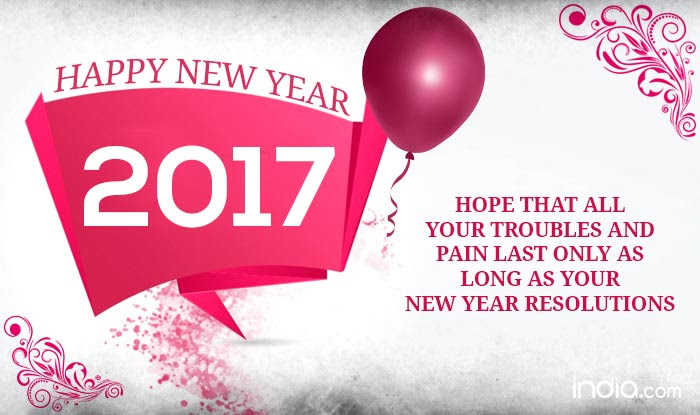 Happy New Year 2017 Best New Year Quotes Sayings Sms Greetings
