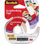 """Scotch Scrapbooking Tape Double-Sided Removable-.5""""X300"""""""