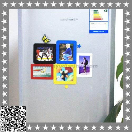 Custom Magnetic Acrylic Photo Frames For Fridge Manufacturers