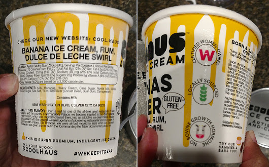 Oh Yeah…Cool Haus Bananas Foster Ice Cream is a High Quality Indulgence
