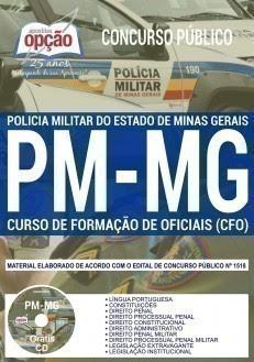 Apostila PM MG CFO 2018.