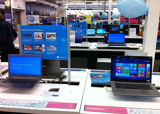 NPD: Windows 8 not yet providing boost to slow PC market