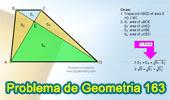 Problema de Geometría 163 (ESL): Trapecio, Diagonales, Triángulos, Áreas.