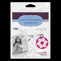 Creative Photo Corners Ivory 108