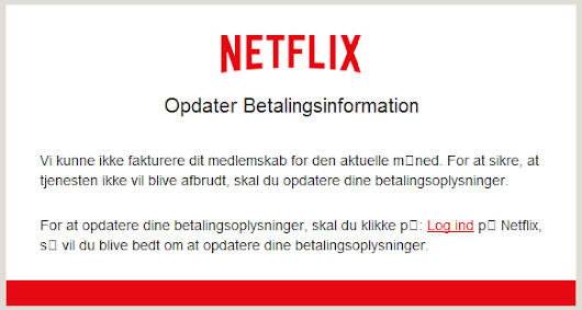 Scam Of The Week - Netflix For Free
