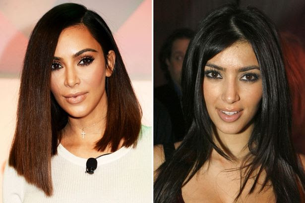 How theyve changed! The Kardashian sisters are virtually unrecognisable from their prefame