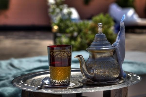 Gruener Tee Marrakesch