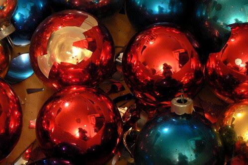 Christmas Ornament Reflection