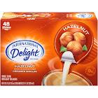 International Delight Non-dairy Coffee Creamer, Hazelnut - 48 cups, 21 oz box