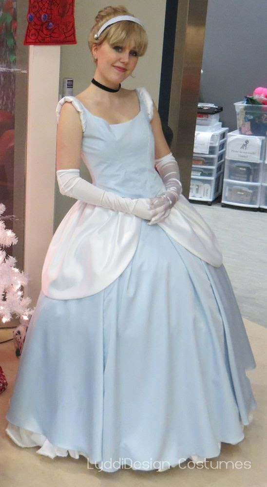 Happily grim disney dress tutorials for not so grownups cinderella costume walkthrough cinderella solutioingenieria Image collections