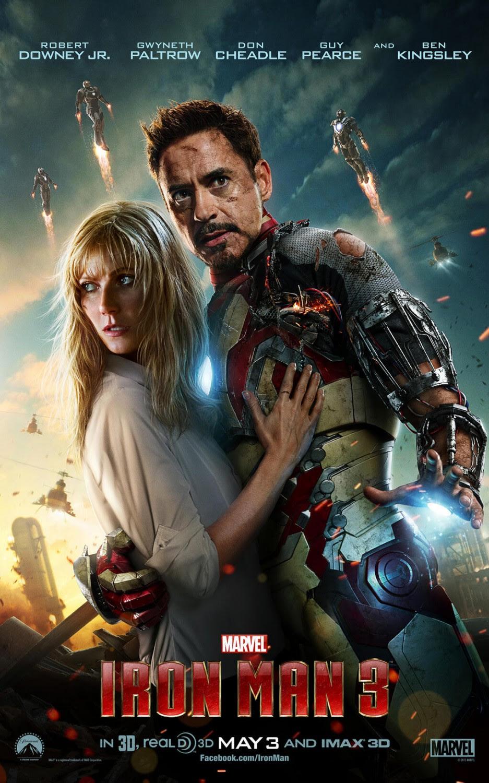 Resultado de imagen para iron man 3 movie poster