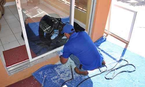 Replace an Old Sliding Glass Door in Boca with a New One