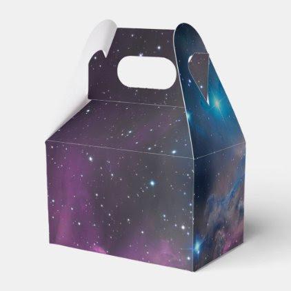 Flaming Star Nebula Favor Box