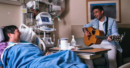 Michael Ray Has Seen the Healing Power of Music With Musicians On Call