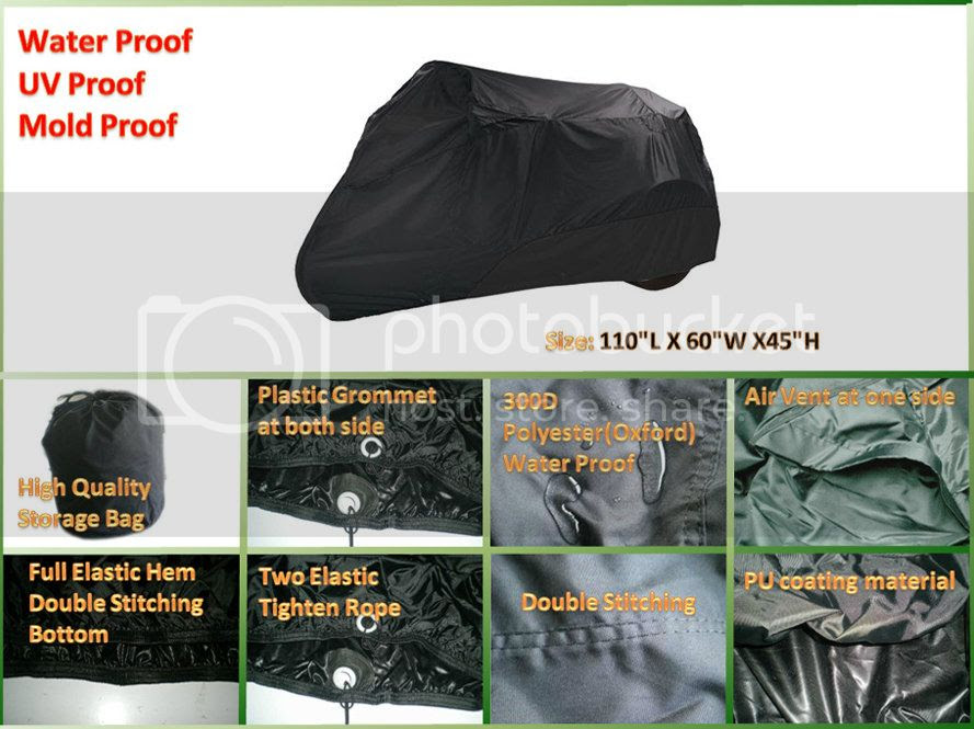 Best deal on motorcycle trike cover, 30% off - PandaCover