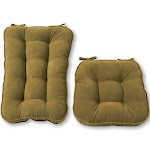 Greendale Home Fashions Hyatt Jumbo Rocking Chair Cushion Set - Moss.