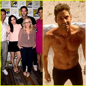 Tom Ellis Goes Shirtless as 'Lucifer' in Comic-Con Sizzle Reel!