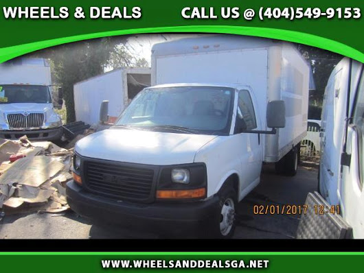Used 2008 GMC Savana G3500 Cargo for Sale in Atlanta GA 30329 Wheels And Deals