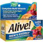 Natures Way - Alive! Once Daily Men's Energy Multivitamin - High Potency (50 Tablets) - Targeted Formula Multi