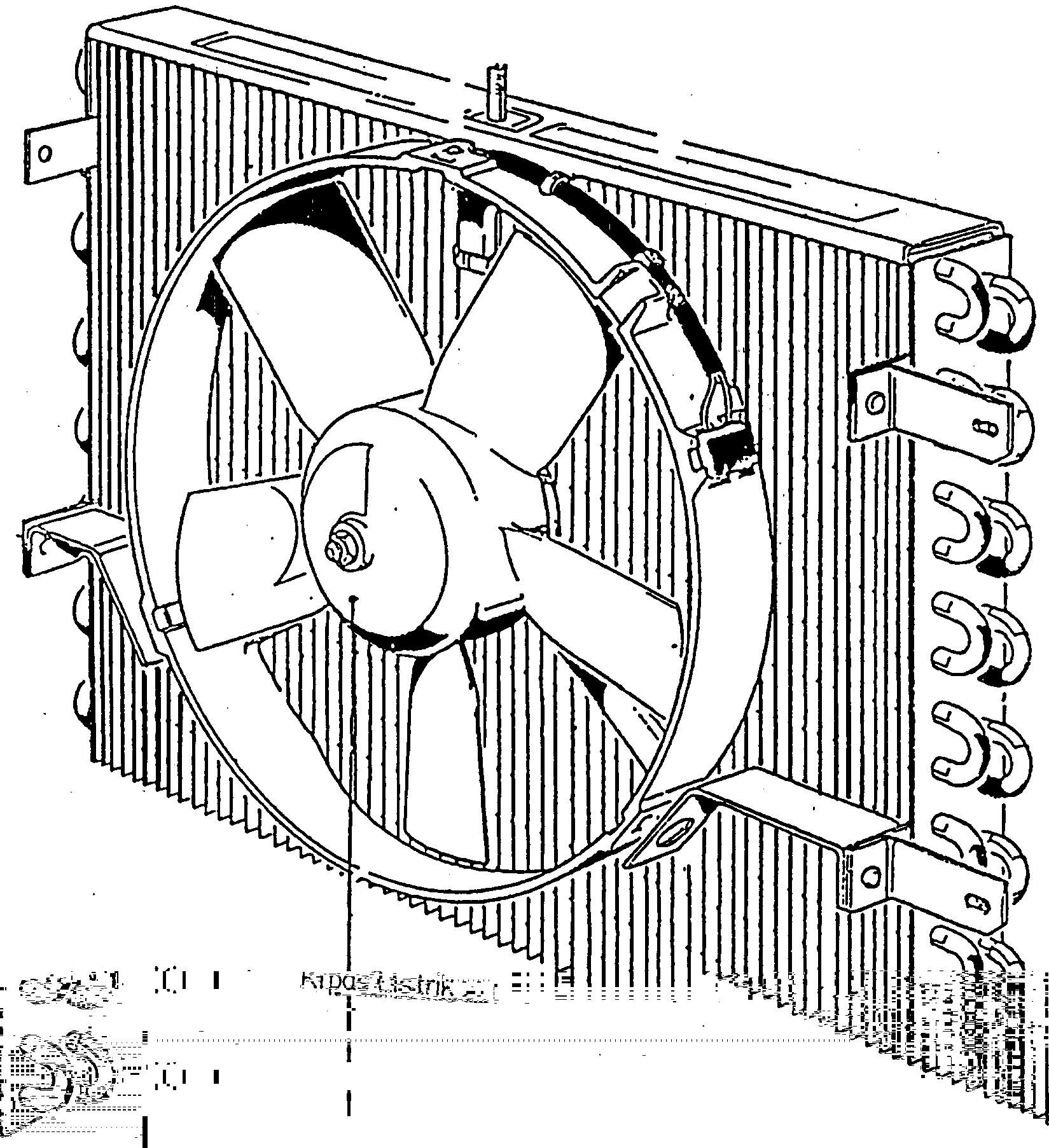 Adakalanya pemasangan kondensor di depan radiator tidak dilengkapi  title=