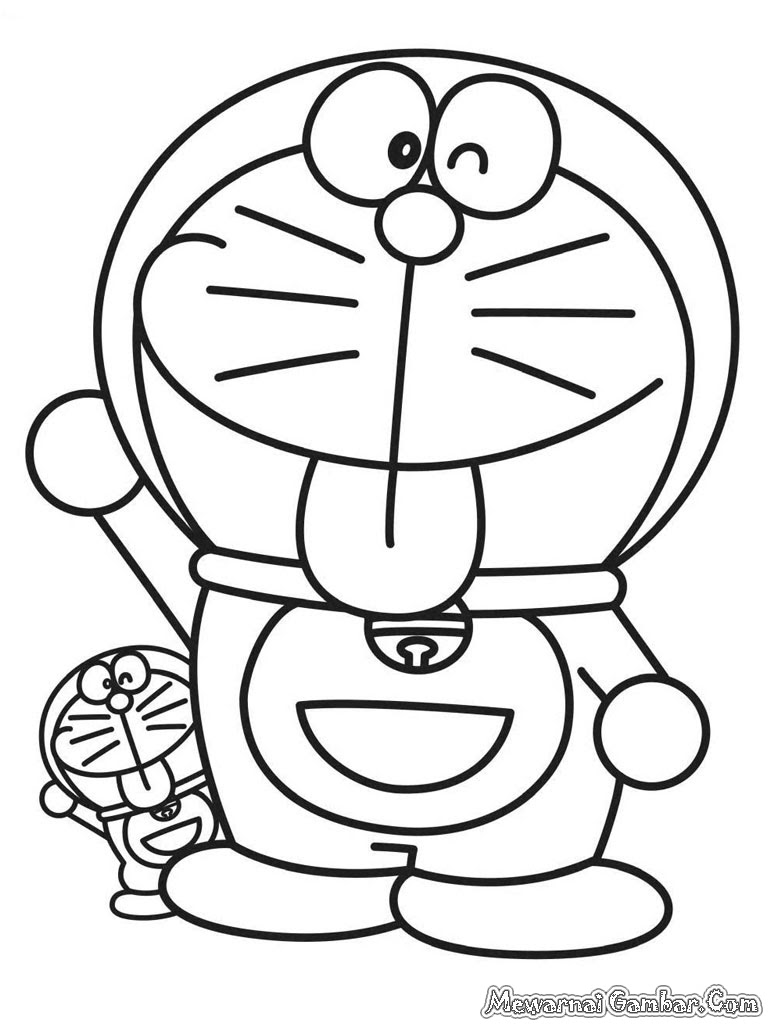 5700 Gambar Kartun Doraemon Yang Mudah Digambar Terbaru