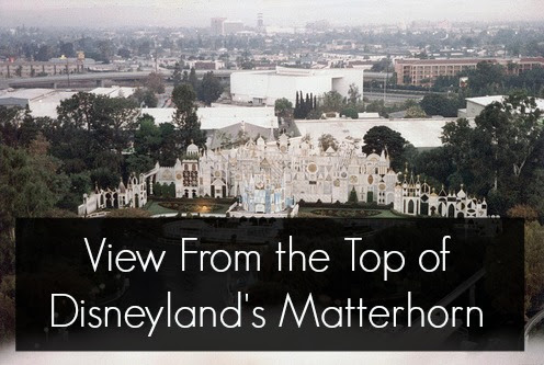 View From the Top of the Disneyland Matterhorn