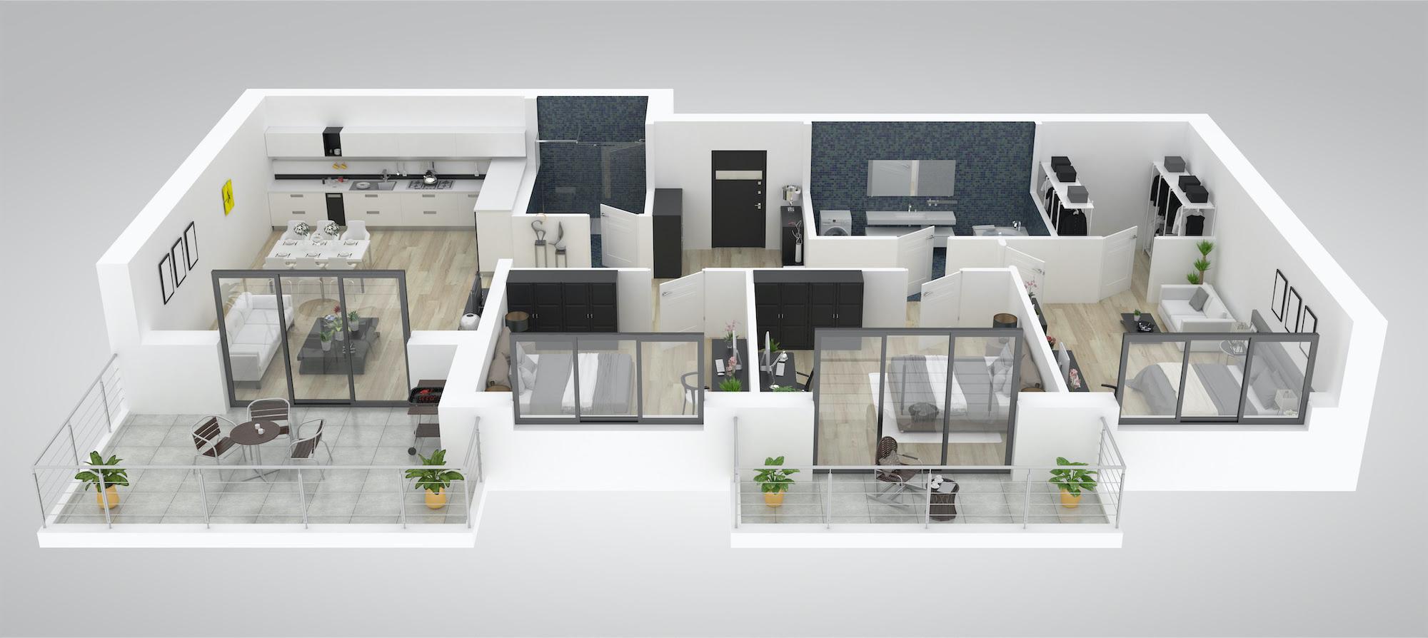 Loft Apartment Interior Design Ideas