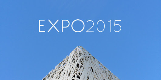 Instagrammers' Minimal Take on the Expo 2015 | Valentina Loffredo