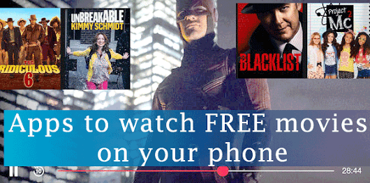 Top 4 best mobile apps to watch FREE movies on your phone - Cool Stuff Blog : Indie blogger