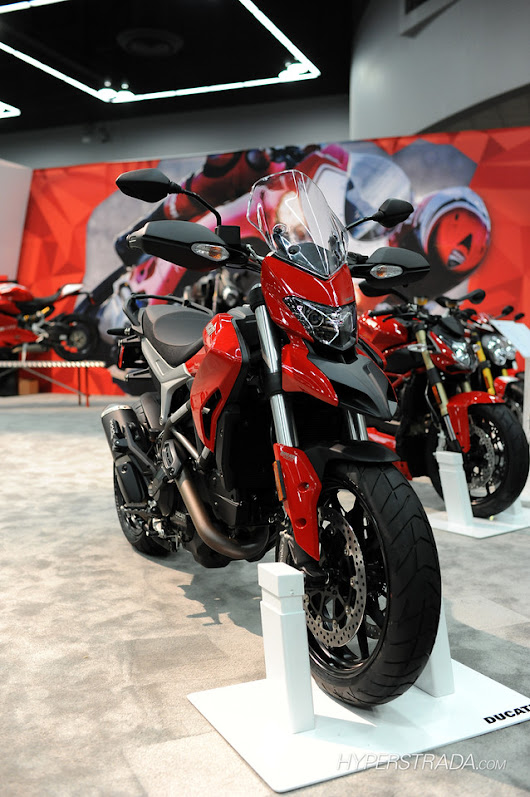 Ducati Hyperstrada Pictures - International Motorcycle Show - Portland, OR - Ducati Hyperstrada Forum