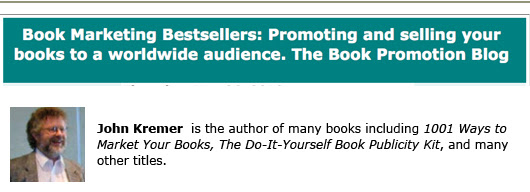 john kremer book marketing self-publishing
