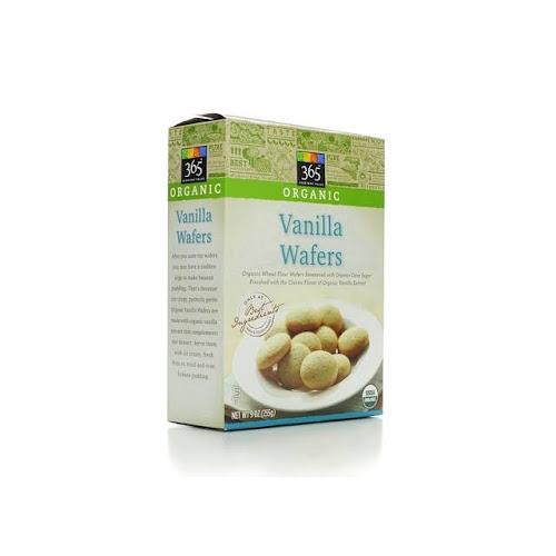 365 Everyday Value Organic Vanilla Wafers - 9 oz box