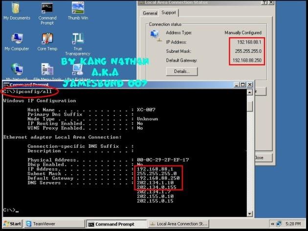 Cara Membuat 2 IP Address pada 1 LAN Card Komputer