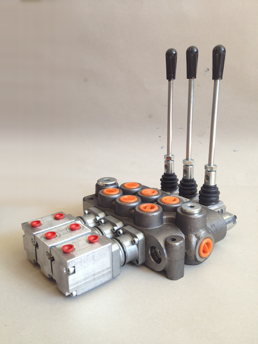 Air-controlled hydraulic valves | Hydraulic solutions, power packs and cylinders