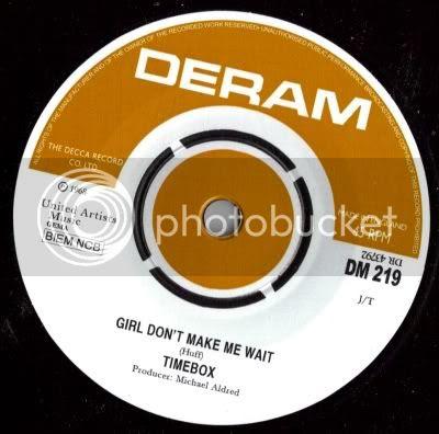 Timebox -Girl Don't Make Me Wait