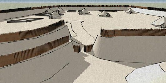 LIDAR Reveals 2,000-Year-Old Dwellings of Earliest Occupants of an Iron Age Hill Fort