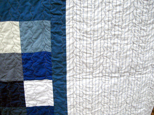 Plus Quilt finished