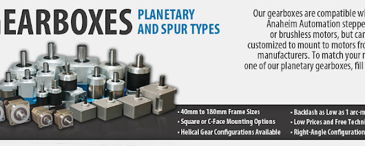 Gearboxes: Planetary and Spur Types