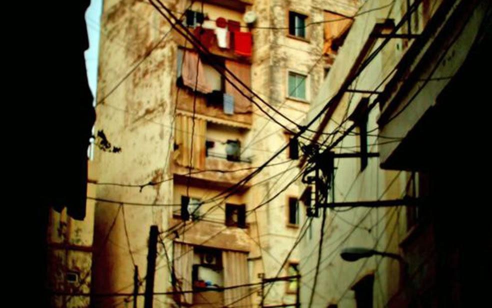 O criminoso opera em um subúrbio dilapidado de Beirute (Foto: BBC)