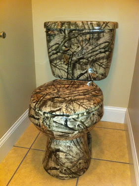 Home Design Ideas Camo Bathroom Decor