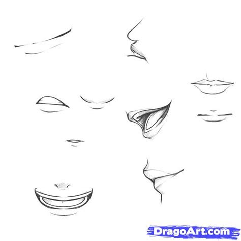 draw mouths step  step drawing sheets added  dawn
