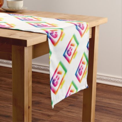 C:\ Nerds and Geeks Rejoice ! Short Table Runner