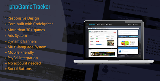 Download phpGameTracker - Game Servers Statistics nulled | OXO-NULLED