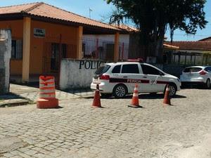 IML Ubatuba (Foto: Arquivo Pessoal/Eduardo Reigadas)