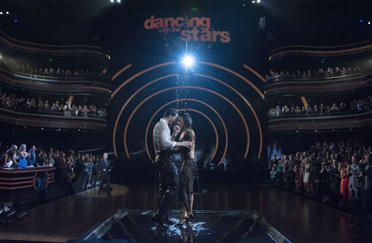 'DWTS' rain, 'Shaq'd' with Shaquille O'Neal, 'Ellen' staff heads to haunted house