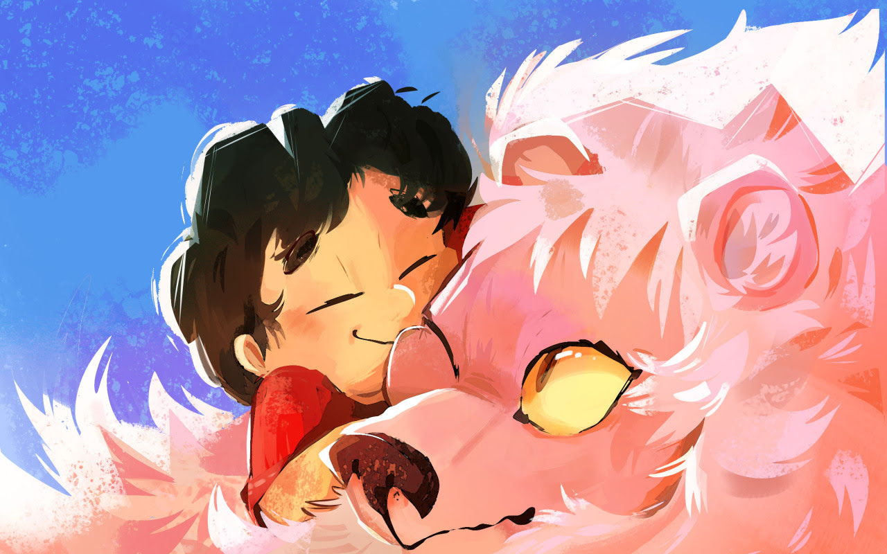 ✮steven kisses for lion✮!!
