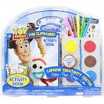 Disney Pixar Toy Story 4 Lapdesk Paint Coloring Stickers Set