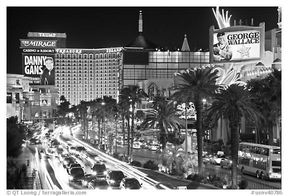 las vegas strip at night wallpaper. night on Las Vegas Strip.
