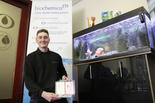 Biochemica fishes up new skills for apprentices