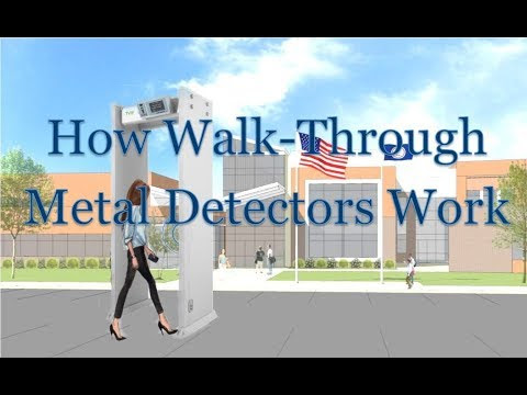 How Walk Through Metal Detectors Work